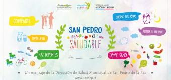AFICHES PROMOCIÓN: SAN PEDRO SALUDABLE