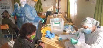 ATENCIÓN PRIMARIA SAMPEDRINA REALIZÓ TESTEOS PCR EN CENTROS DE ADULTOS MAYORES